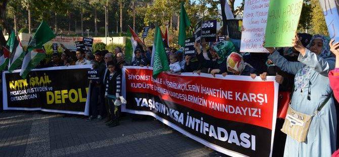 Siyonist İşgal Kahramanmaraş'ta Protesto Edildi