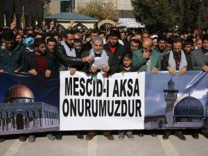 Siyonist Saldırganlık Van'da Protesto Edildi