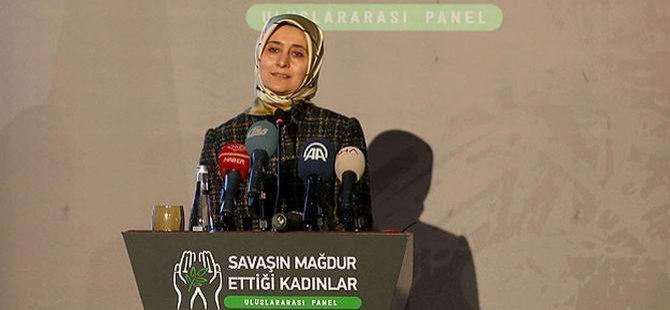 Sare Davutoğlu: Yük ve Sorumluluk Paylaşılmalı