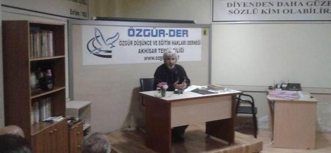 Akhisar'da ''Hz. Peygamber'in Sahabeyle İletişimi'' Semineri