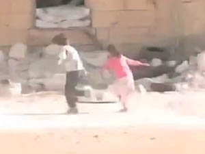 Suriyeli Kahraman Çocuk Videosu Kurgu Çıktı