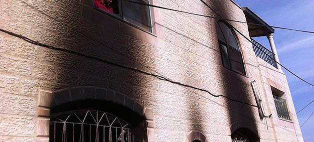 Yahudi Yerleşimciler Batı Şeria'da Cami Yaktı