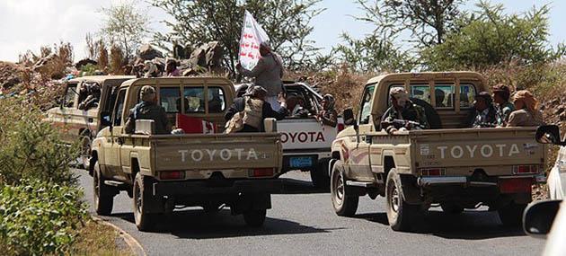 Saray Muhafızları ve Husiler Arasında Çatışma