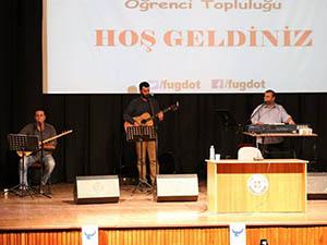 Grup Yürüyüş, Fırat Üniversitesinde Konser Verdi