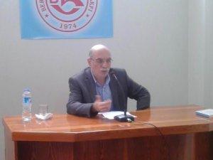 Bergama'da ''İslam Dünyasında Emperyalist Kuşatma'' Semineri
