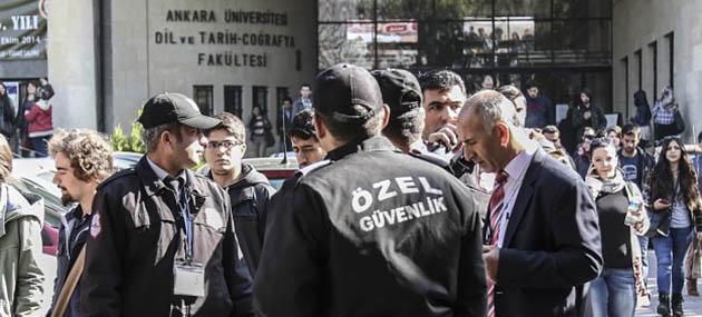 Ankara DTCF'de Öğrenime 3 Gün Ara