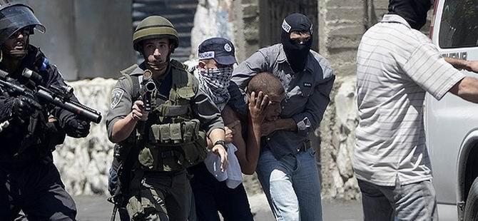 20 Filistinli Daha Gözaltına Alındı