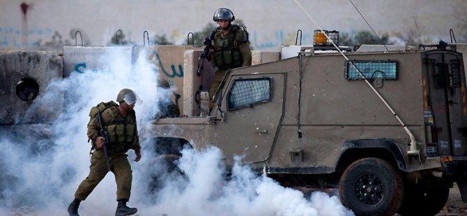 Siyonist Askerler İle Filistinliler Arasında Gergin Gece