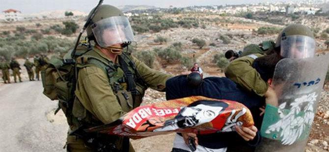 İsrail, 14 Yılda 10 Bin Filistinli Çocuğu Gözaltına Aldı