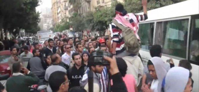 Mısır'da 'Muhammed Mahmud' Gösterileri