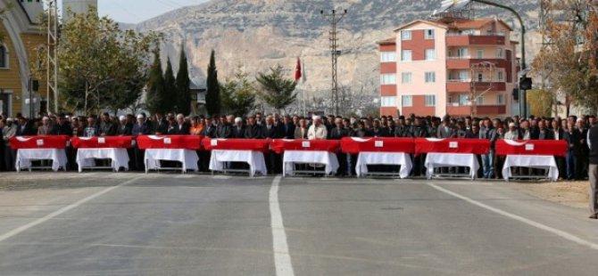 Ermenek'te Maden İşçilerine Hüzünlü Veda