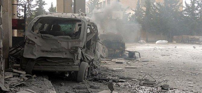 Esed Güçleri Rakka'yı Bombaladı: 9 Ölü