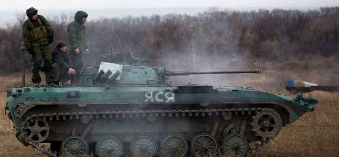 Rusya'dan Ukrayna'ya Topçu Ateşi Açıldı