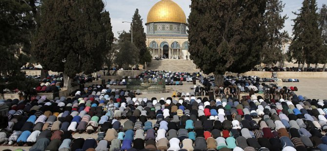 Filistin'den UNESCO'ya Kudüs Çağrısı