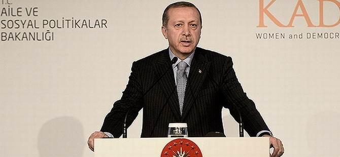 Erdoğan: Ben Hukuk Arıyorum