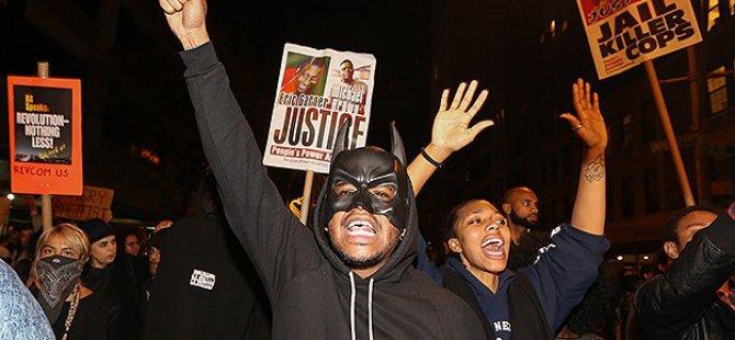 Ferguson Kararıyla Birlikte Halk ABD'de Sokağa Çıktı!