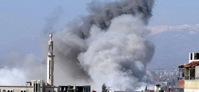 ABD Suriye'de Bir İlkokulu Bombaladı