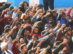 Ferguson Protestoları Londra'ya Sıçradı
