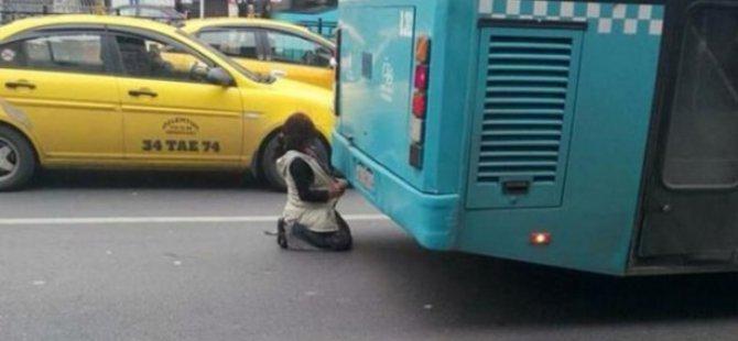 İstanbul'da Utandıran Görüntü
