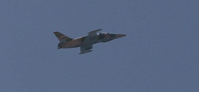 Esed Güçleri Rakka'yı Bombaladı