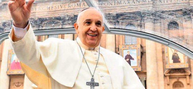 Papa Francis, Ermenistan'da 'Soykırım' Dedi