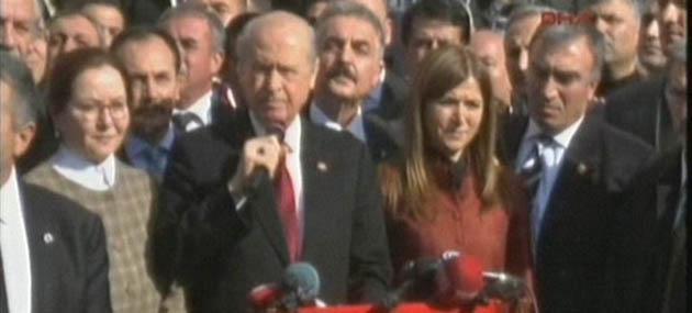 """Bahçeli, Tunceli'de """"1938 İsyancıları Teröristtir!"""" Dedi"""