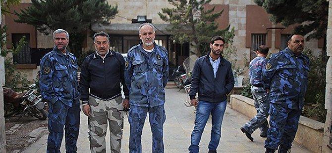 Halep'te Özgür Polis Merkezleri Kuruldu