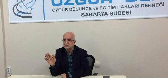 """Sakarya'da """"Mekke'de Boykot ve Barışçıl Direniş"""" Semineri"""