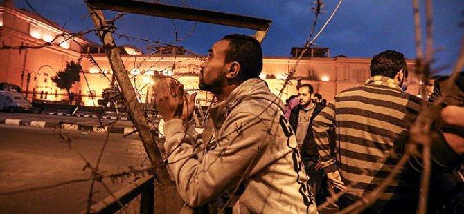 Mısır'da Protestoculara Saldırı: 2 Ölü