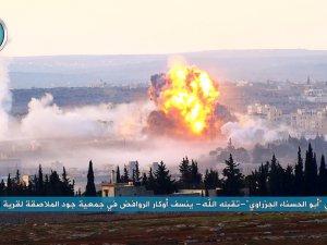 Nusra'dan Halep'te Tankla Canlı Bombalı Saldırı (Video)