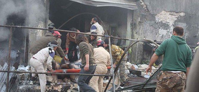 """Halep'e """"Vakum Bombalı"""" Saldırı"""