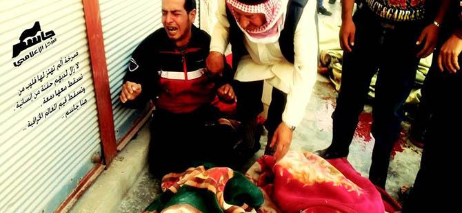 Baas Rejimi Suriye'de 16'sı Çocuk 74 Kişiyi Katletti
