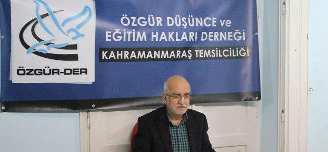 """K. Maraş'ta """"İslamcılığın Dünü ve Bugünü"""" Semineri"""
