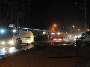Hani'de Bombalı Gösteri: 2 Yaralı
