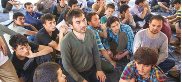 6 Bin Uygur Türkü Ölümün Kıyısında