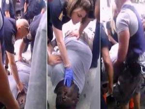 ABD Polisi Garner'ı Böyle Öldürdü (VİDEO)