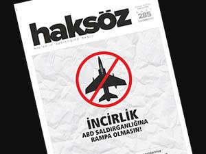 Haksöz Dergisinin Aralık 2014 Sayısı Çıktı