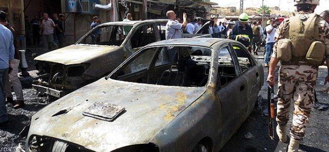 Irak'ta Bombalı Saldırılarda 37 Kişi Öldü