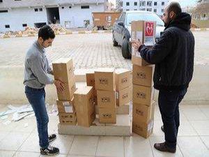 Yeryüzü Doktorları'ndan Suriyelilere İlaç Yardımı