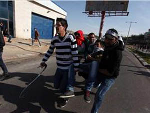 Ramallah'ta 1 Yaralı; Kudüs'te 5 Gözaltı