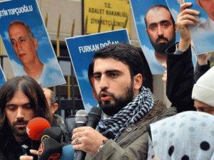 Bakanlık Önünde Mavi Marmara Eylemi