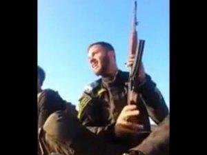 Tehditler Savuran Şii Militanın Trajik Sonu (Video)