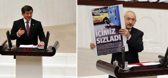 Davutoğlu'ndan Kılıçdaroğlu'nun Fotoğrafına Cevap