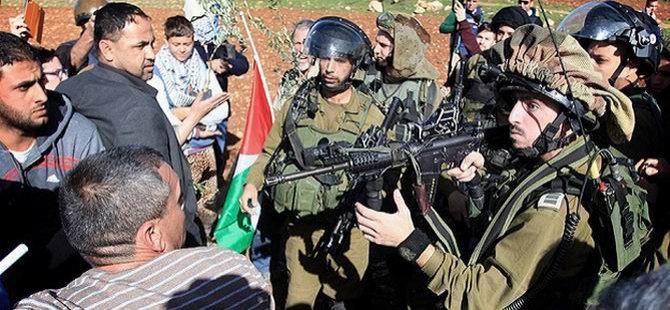 İsrail Filistinlilere Gerçek Mermiyle Müdahale Etti
