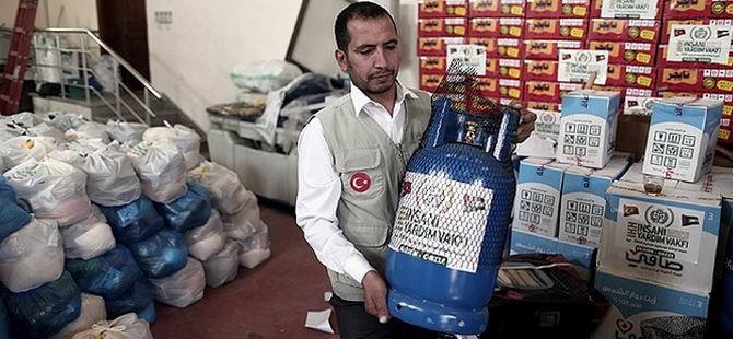 İHH'dan Gazzeli Ailelere Yardım
