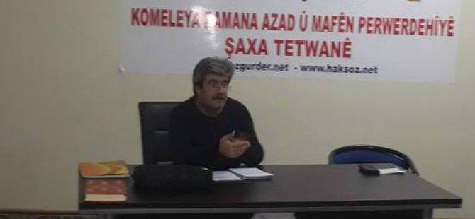 """Tatvan'da """"İslam Öncesi Arabistan"""" Semineri"""