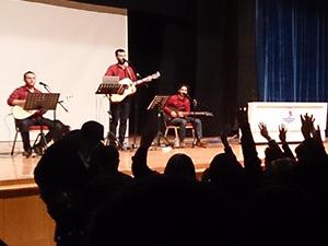 Grup Yürüyüş, Samsun OMÜ'de Konser Verdi