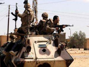 Mısır Ordusundan Sina'ya Saldırılar