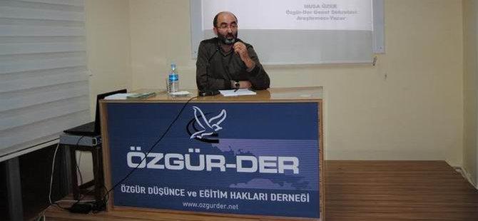 """Çorum'da """"Değişim Süreci ve İslami Cemaatler """" Semineri"""