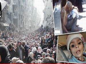 Suriye'de 990 Filistinli Mülteci Açlıktan Öldü